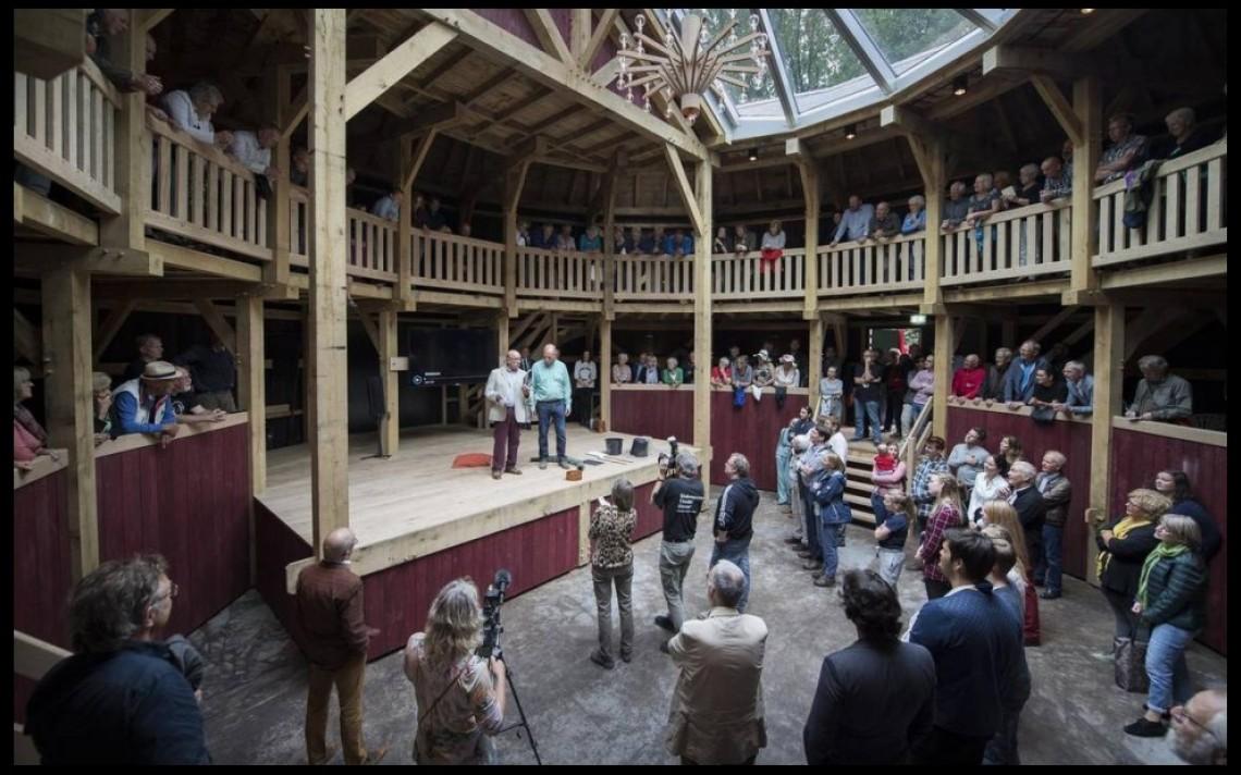 Het nieuwe Globe Theater in Diever