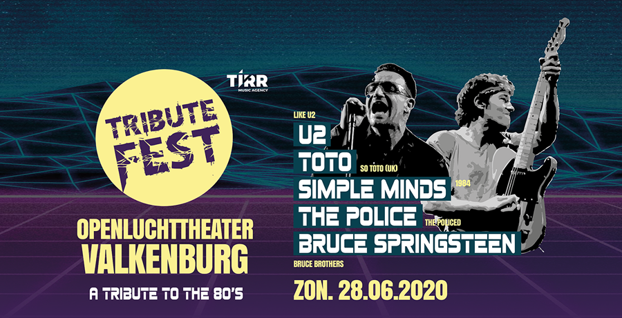 TRIBUTEFEST | A TRIBUTE TO THE 80's