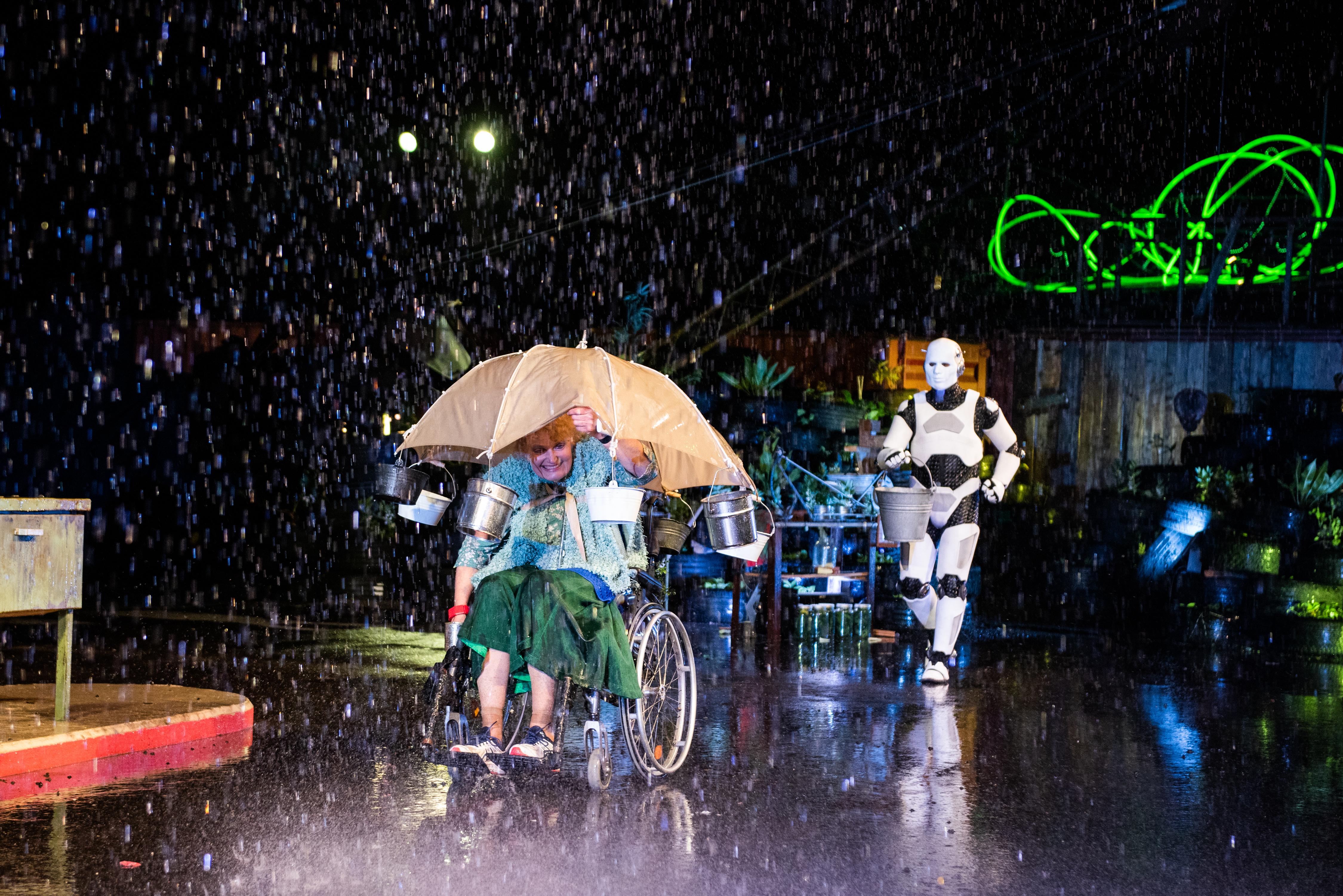 Theater Spektakel ROBOT