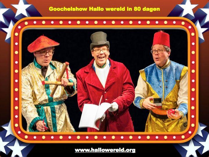 Goochelshow Hallo wereld in 80 dagen