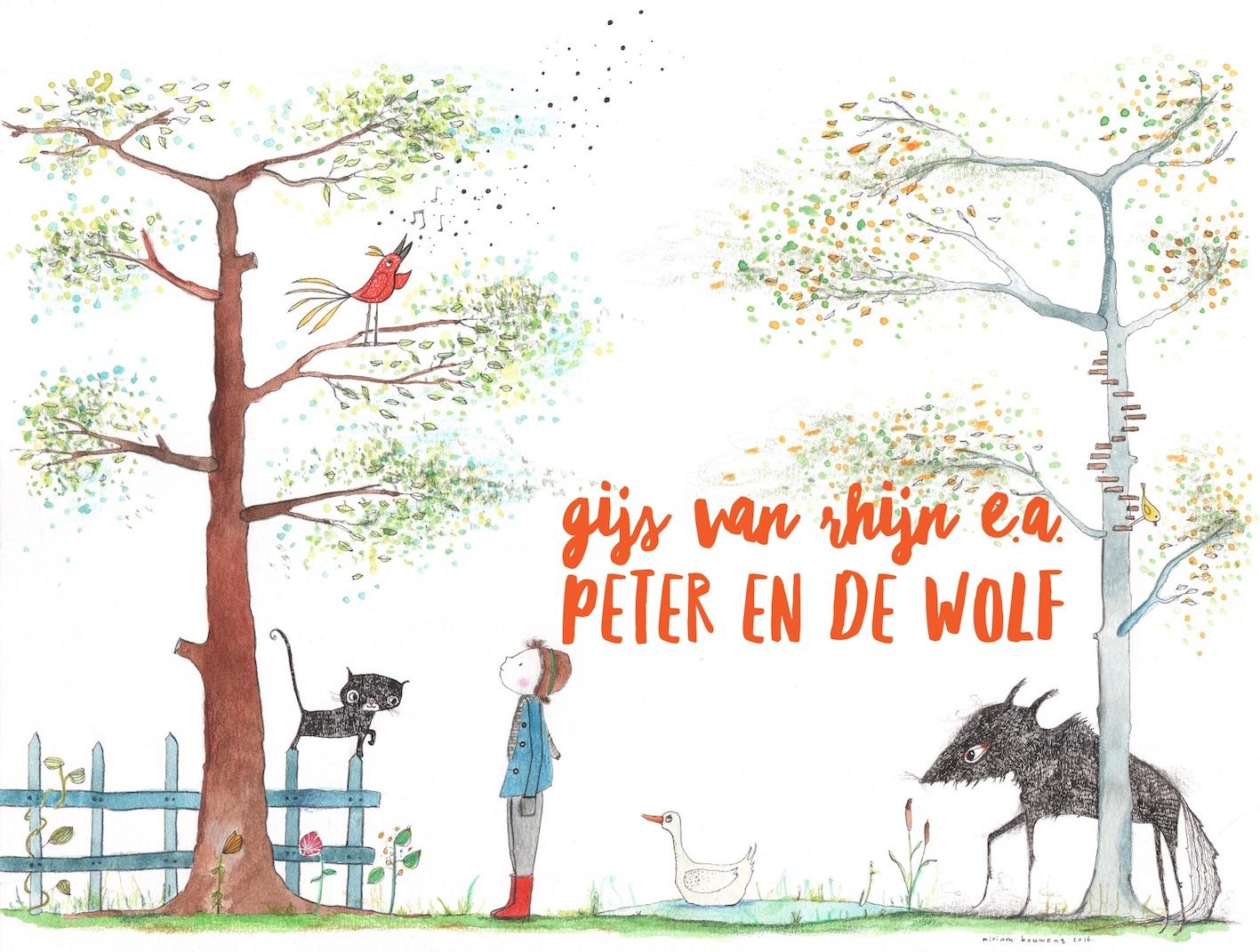 Gijs van Rhijn e.a. – Peter en de wolf
