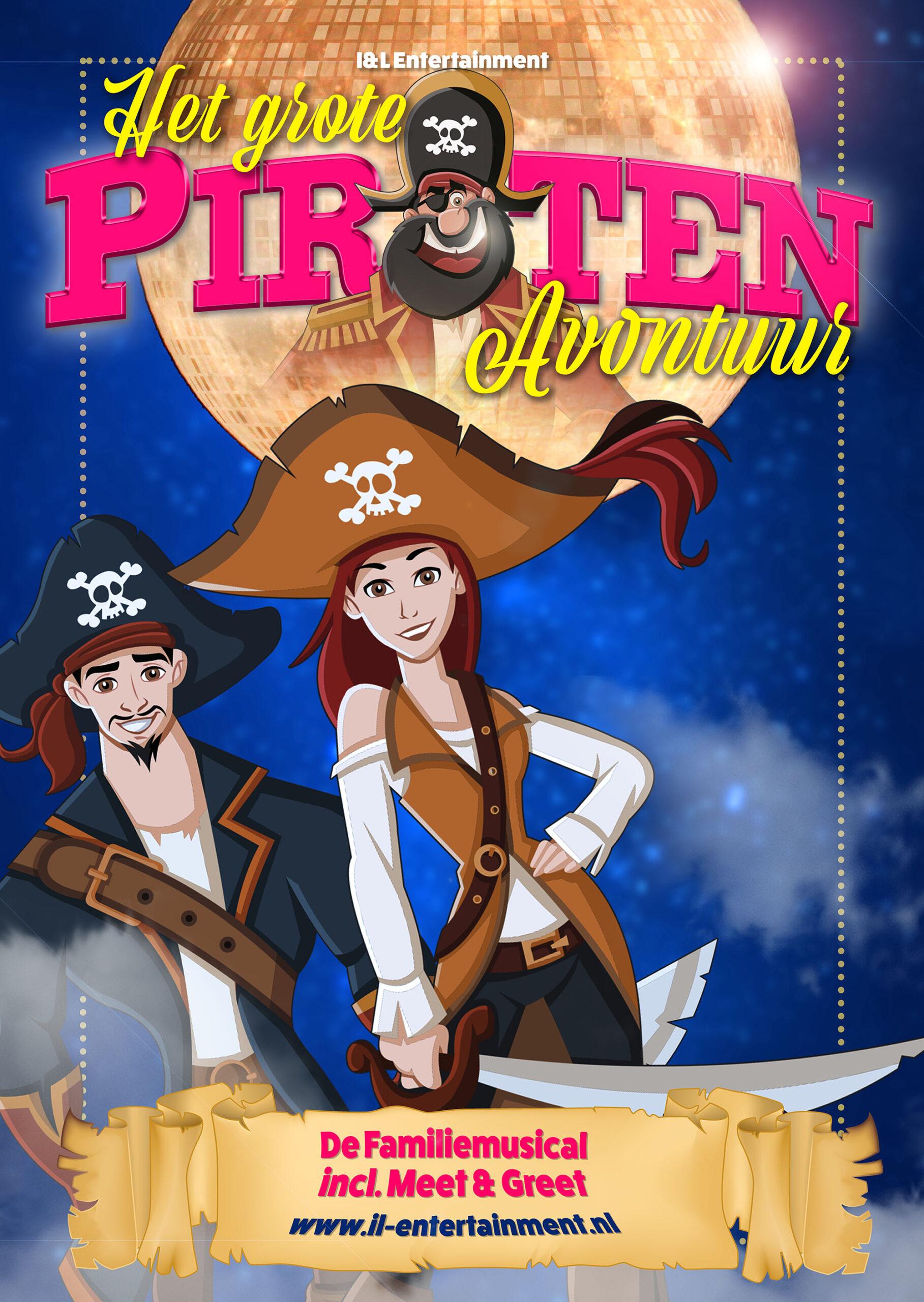 Een heerlijk Piraten avontuur boordevol spetterende muziek