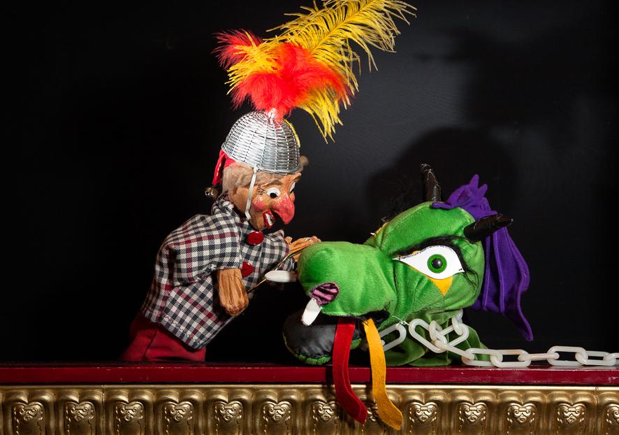 Luuks Poppentheater twee Janklaassenspelen