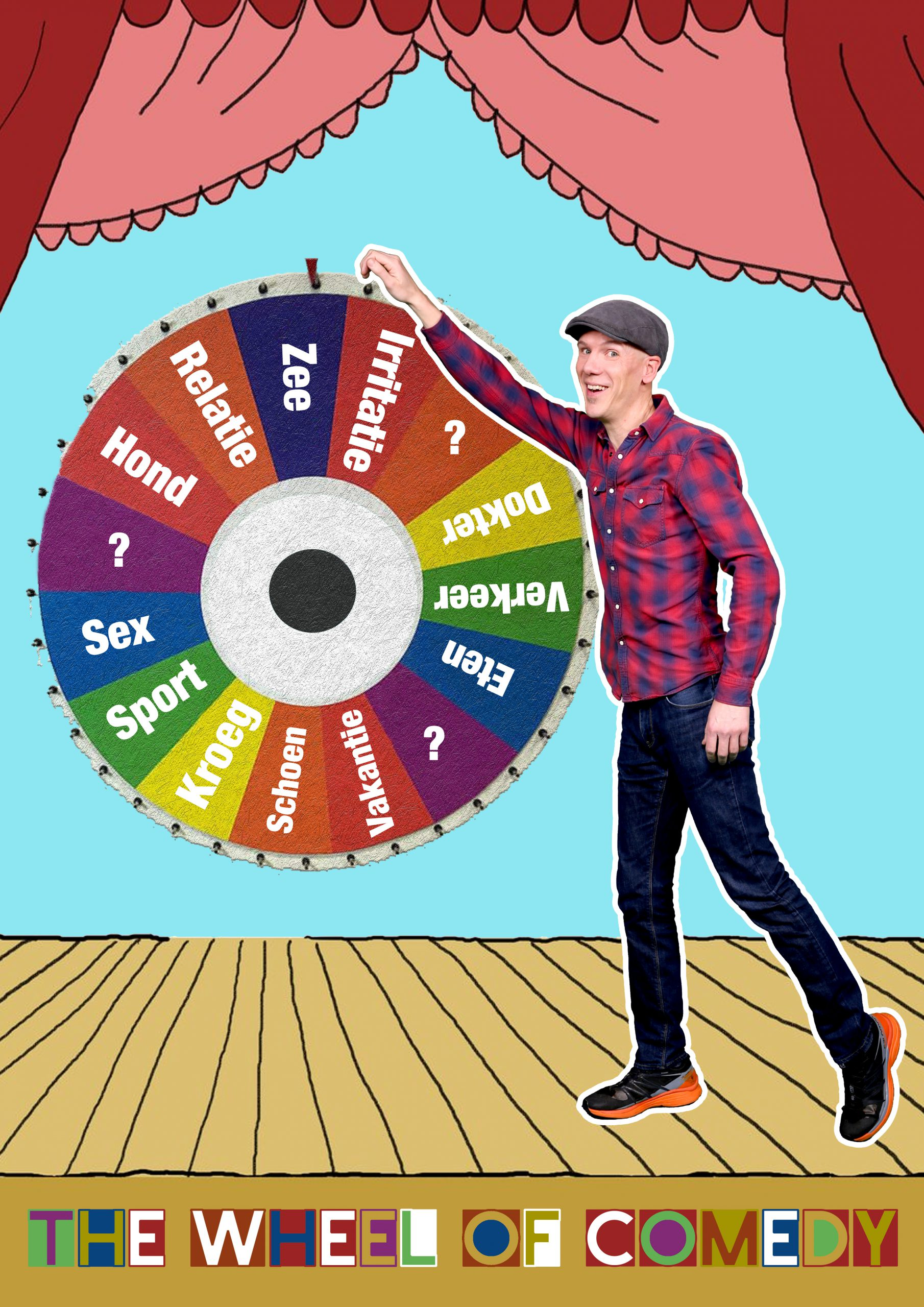The Wheel of Comedy (tryout)